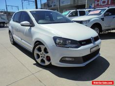 2010 Volkswagen Polo 6R MY11 GTi White Automatic 7sp A Hatchback #vwvolkswagen #polo #forsale #australia