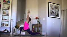 10 Minute Yoga Flow! Great start to your day when you don't have a lot of time for practice. Rachel Brathen YouTube video.