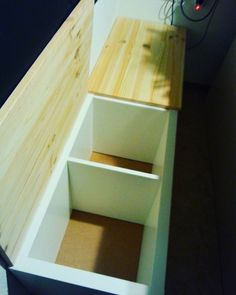 Most up-to-date Pictures Today I outdid myself! As a craftsman, it& with me . Concepts The IKEA Kallax line Storage furniture is a vital element of any home. Diy Kallax, Ikea Kallax, New Swedish Design, Ikea Furniture Hacks, Furniture Ideas, Kallax Regal, Muebles Living, Best Ikea, Walk In Closet