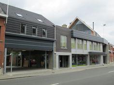 verbouwing en uitbreiding van twee bestaande woningen