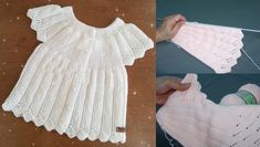 Little princesses knit cut baby vest model - Veronica Speaks Popular Ads, Hobbies For Women, Moda Emo, Womens Fashion Online, Girl Blog, Little Princess, Knitting Patterns, Ruffle Blouse, Lace