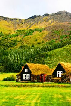 Iceland--This picture makes me want to pack my things and move there. Not the first time I've fantasized about it...