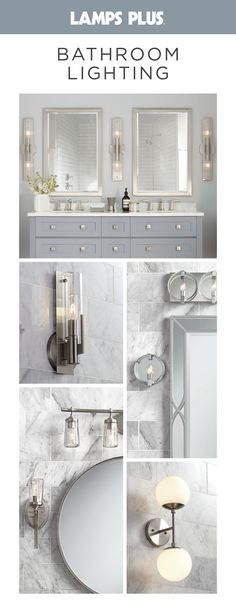 Free Shipping* on our best-selling bathroom lighting fixtures. We carry the best selection at the lowest prices including vanity lighting, sconces and bath bars. Bathroom Lighting Fixtures, Bathroom Mirrors, Sconce Lighting, Vanity Lighting, Small Bathroom, Upstairs Bathrooms, Bathroom Renos, Bathroom Renovations, Home Remodeling