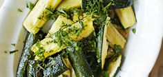 Roast Courgettes With Lemon Recipe - Sainsbury's