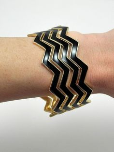 CYBER MONDAY $15 OFF any purchase of $60 or more!! Black Chevron Bracelets - $15.00 : FashionCupcake, Designer Clothing, Accessories, and Gifts