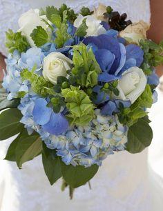 Brautstrauß_blau - 2