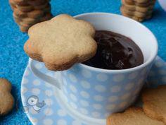 Puffin in cucina e non solo...: Biscotti con farina di farro.....rustici fiorellini ^_^