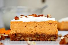 Pumpkin Cheesecake Bars | Tasty Kitchen: A Happy Recipe Community!