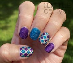 The Little Canvas: Zoya Carter, Tomoko, and Liberty Tape Manicure