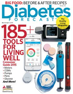 The number of diabetes devices and products on the market can be overwhelming. The 2015 Consumer Guide from Diabetes Forecast magazine is a catalog of reliable information people with diabetes can use to choose the products that best meet their needs. #diabetes