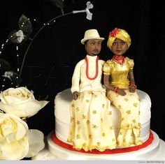 22 Beautiful & Colorful Nigerian Traditional Engagement Wedding Cake Ideas | Nigerian Wedding