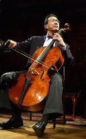 Yoyo Ma >> I am so excited to be seeing him in concert this Friday night!