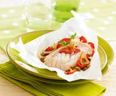 Papillotes de colin à la provençale et Salsa aux épices douces
