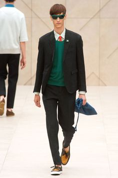 Back in London, Burberry Ponied Out Cute Schoolboys - The Cut