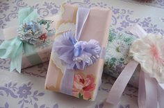 Vintage Wallpaper Soaps by such pretty things, via Flickr