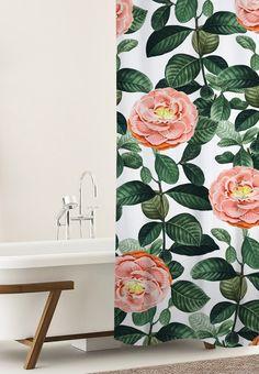 'Josephine' Shower Curtain @society6 #society6 #decor #home