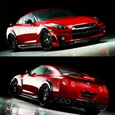 Oh god this car is so beautiful, the Nissan GTR aka Godzilla,
