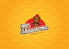 MR.Shawarma by Mohamed Zoheir, via Behance