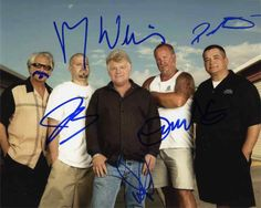 Storage Wars Cast Signed 8x10 Photo Certified Authentic JSA