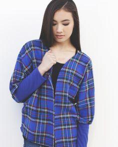 Clothes ~ Kimonos ~ Malia's Plaid Kimono/Jacket