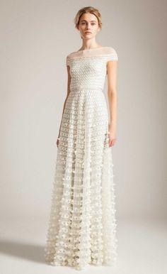 Long Trellis Dress | Temperly London