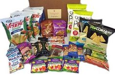 Non-GMO and Natural Healthy Snacks Care Package by The Good Grocer Count) Gourmet Food Gifts, Gourmet Recipes, Snack Recipes, Healthy Snack Options, Yummy Healthy Snacks, Fruit Strips, Best Candy, Meal Deal, Sweet And Salty