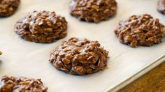Upgrade your favorite no-bake oatmeal cookie with creamy Nutella™ spread!