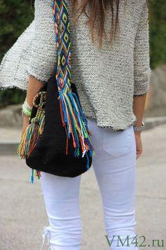 Колумбийская мочила сумка крючком