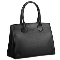 PATRIZIA PEPE Handtasche ► Die Tasche von PATRIZIA PEPE vereint Klassik mit puristischem Design. Mit klaren Linien überzeugt das Modell mit hochwertig verarbeitetem Leder und praktischem Format. Dank abnehmbaren Trageriemen lässt sich das Stück locker über der Schulter tragen. Ein Accessoire mit vielen Kombinationsmöglichkeiten.  Maße : 24 x 30 x 17 cm (H x B x T)