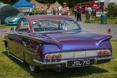 Ford Consul Capri - Look at the tail on