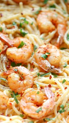 Bang Bang Shrimp Pasta ~ creamiest, easiest pasta dishes of all!
