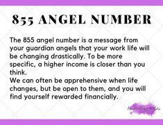 855 Angel Number Meaning | Why Do You Keep Seeing The Number 855?