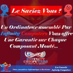garanties-achat-pc-assemblé- Le Saviez Vous -Infinity Comuters - Assembleur Pc Bordeaux