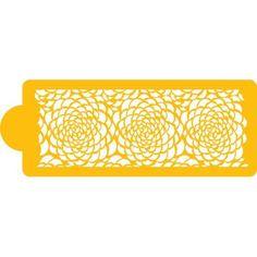 Amazon.com: Designer Stencils Camilla Rose - Middle Tier Cake Stencil: Home & Kitchen