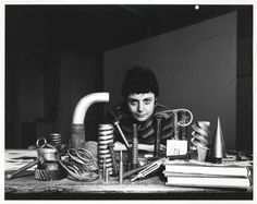 """An example of an artist whose life is her work. Hard, lonely stuff. Lee Lozano. From her diaries: """"From week in Halifax: the magic word to cancel spells If anyone tries to lay a spell on you, or, to counteract a witch's power, yell: ORTHOGRAPHY!"""""""