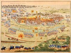 24. August ☚   ⚔ 1761 – Entsatz von Hamm ➹   ⚔ 1807 – Gefechte vor Kopenhagen (Bild) ➹