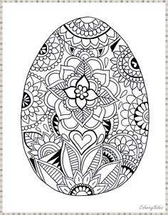 Malvorlagen Home 2020 crafts worksheets coloringpage printable craft Easter Coloring Pages Printable, Easter Egg Coloring Pages, Easy Coloring Pages, Coloring Pages To Print, Coloring Sheets, Easter Bunny Pictures, Ostern Party, Easter Activities For Kids, Meditation