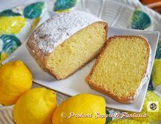 Plumcake al limone con albumi senza burro