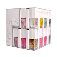 Did you enter our #elfbirthday nail art contest? Ten lucky winners will win an e.l.f. Essential 14-Piece Nail Cube!