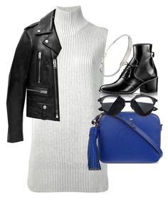 """""""Untitled #4109"""" by olivia-mr ❤ liked on Polyvore featuring Hermès, Yves Saint Laurent, Anya Hindmarch and Michael Kors"""
