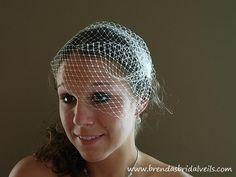 Birdcage veil @Caitlin Stratton