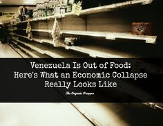 Venezuela is out of food. After several years of long lines, rationing, and shortages, the socialist country does not have enough food to feed its people.