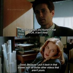 """258 Likes, 5 Comments - The X-Files - Austrian Fan (@sculderscenes) on Instagram: """"'s edit Mulder's porn. Ahaha I love that line in the first seasons of the X-Files. It's…"""""""