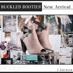 Just in! Click on the link to see more of our favorite pre-fall shoes: http://www.jserene.com/new_arrivals.php #lovejserene #jserene #love #booties #buckles #potd #weloveshoes #welovebooties #style #fashion #welovefashion #fashionistas #fashiondiaries