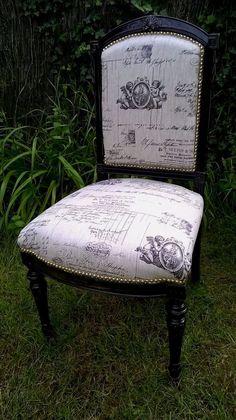 chaise ancienne style Napoléon III