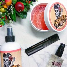 @lady.lilac Is loving her Suavecita Hair-kit!  Go to her page to see her review on all three of these products! #SuavecitaPomade #Suavecita #Pomade #SuavecitaGroomingSpray #SuavecitaArganSerum #Arganoil #Products #Hairproducts #Hair #Hairstyle #Style #Hotd #Suavecitabeauty #Beauty #Getitrucca!