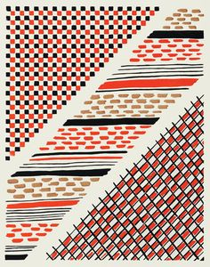 Sonia Delaunay - Known primarily as an abstract painter, Sonia… Bauhaus Textiles, Motifs Textiles, Textile Patterns, Textile Prints, Textile Design, Print Patterns, Sonia Delaunay, Robert Delaunay, Abstract Painters