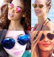 oculos de sol coração espelhado - Pesquisa Google
