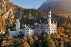 Siguiendo la romántica ruta de los castillos de Luis II de Baviera