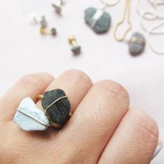Transform beach stones into unique jewelry . A beautiful way to preserve summer memories.